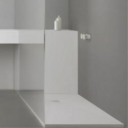 Receveur de douche Basic - Blanc - 120x80cm