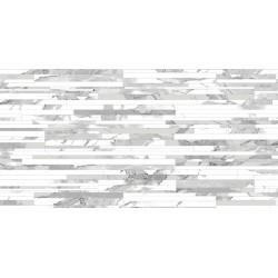 Carrelage POLI STATUARIO BLANC DECOR - 120x60 Rectifié