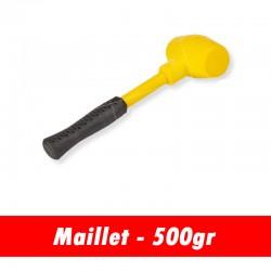 Maillet caoutchouc 500 grammes