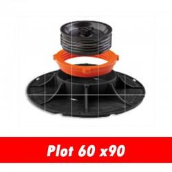 Plot réglable pour carrelage 2cm - 60 x 90