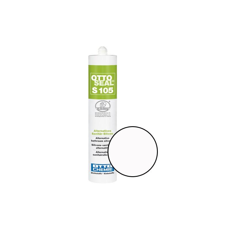 Silicone sanitaire mono composant - S105 BLANC