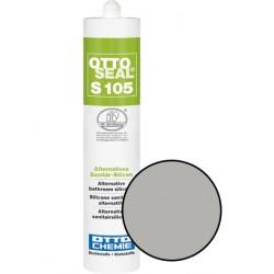 Silicone sanitaire mono composant - S105 GRIS JOINT