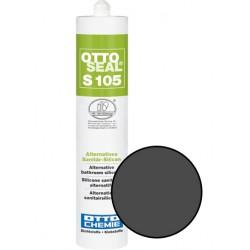 Silicone sanitaire mono composant - S105 ANTHRACITE