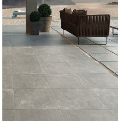 Dalle Carrelage RECTIFIEE 60x60x2 ASSEN GREY