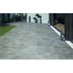 Dalle Carrelage RECTIFIEE 60x60x2 ASSEN GRAPHITE