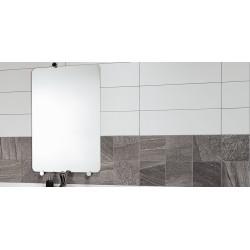 Carrelage mural blanc mat 30x60 Rectifié