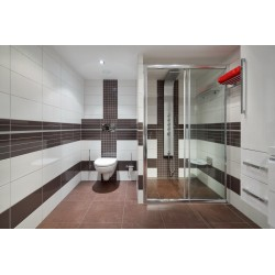 Carrelage mural blanc mat 30x90 Rectifié