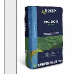 Colle carrelage BOSTIK MC300 C2TE S1Blanche