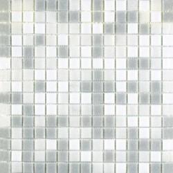 Mosaique de verre Blanc MIX 30x30