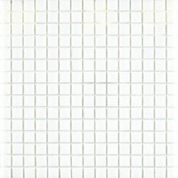 Mosaique de verre Blanc 30x30