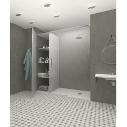 Armoire - Paroi de douche 3 portes