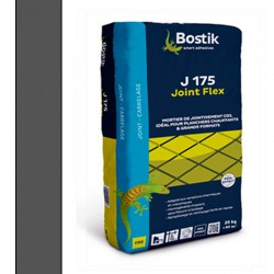 Joint carrelage - Bostik J175 Gris Anthracite 25kg
