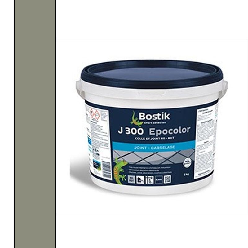 Joint carrelage EPOXY Gris Ciment BOSTIK J-300 5kg icl.lu