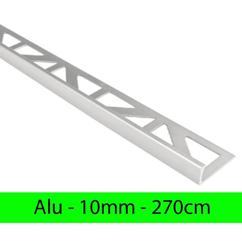 Profil finition alu - Equerre - Angle droit 10mm