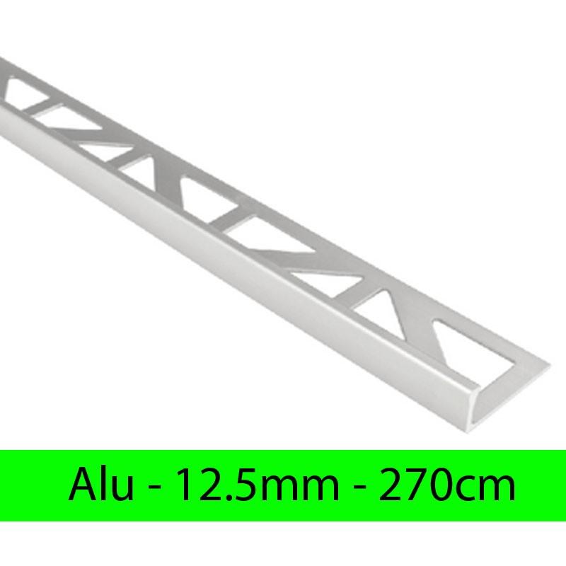 Profil finition alu ANODISE - Equerre - Angle droit 12.5mm