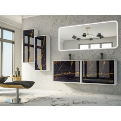 Meuble salle de bain -...