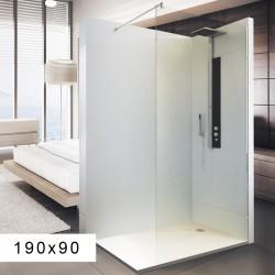 Paroi de douche Transparente 190x90