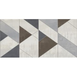 Carrelage METALLIC PLATINA DECOR 40x80